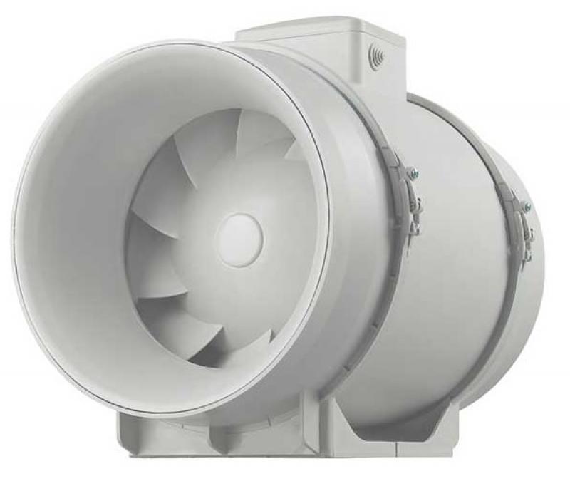 Ultra Quiet Mixed Flow In Line Duct Fan